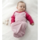 Baby is Marselme Merino Nightdress tied.