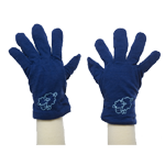 Merino Kids Gloves $30 in Pink & Blue.